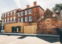 Bridgford Hall Entrance
