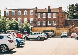 Bridgford Hall Car Park