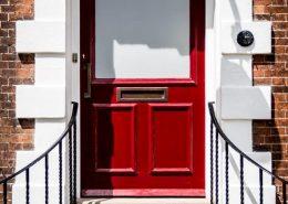 Bridgford Hall Door